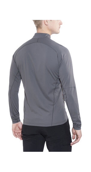 Arc'teryx Accelerator LS Zip Neck Men Iron Anvil